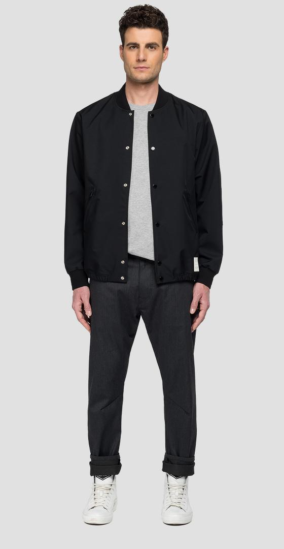 REPLAY SPORTLAB bomber jacket with pockets m8164 .000.s84138