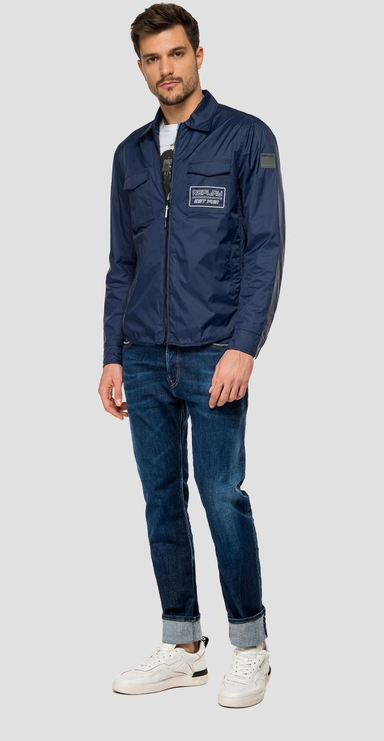 Veste nylon zippée Replay m8968c.000.83578