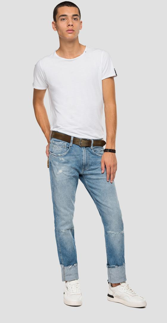 Slim fit Hawaian Recycle Anbass jeans m914a .000.207 604