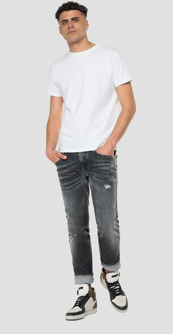 Aged 5 years Organic cotton slim fit Anbass jeans m914y .000.199 926