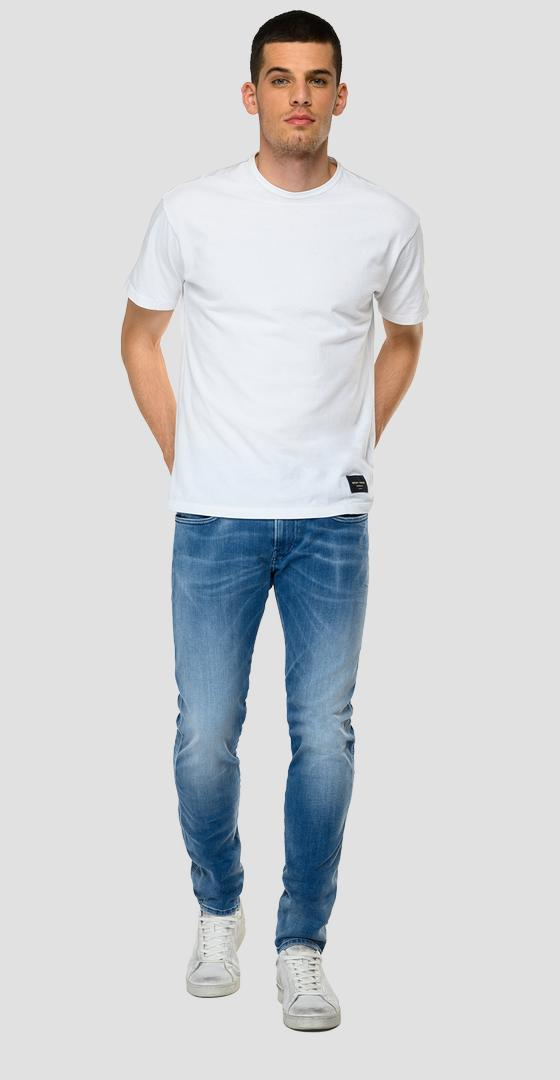 Slim fit Hyperflex Re-Used White Shades Anbass jeans m914y .000.661 wi6