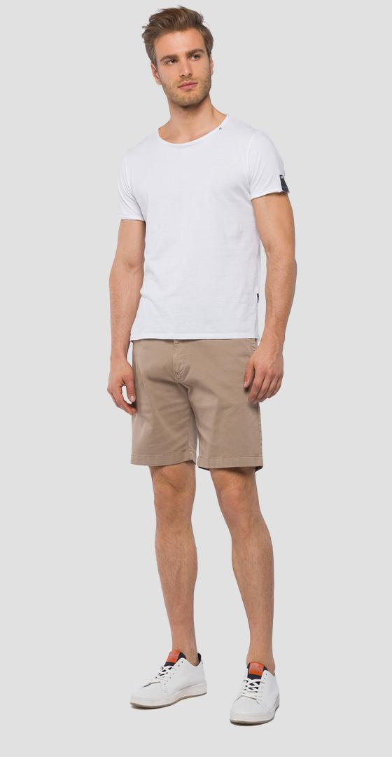 Regular fit chino bermuda shorts m9638 .000.80799g