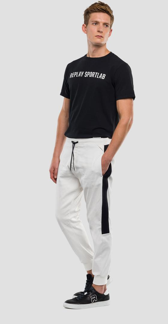 Loose fit cotton trousers REPLAY SPORTLAB m9659 .000.s21649