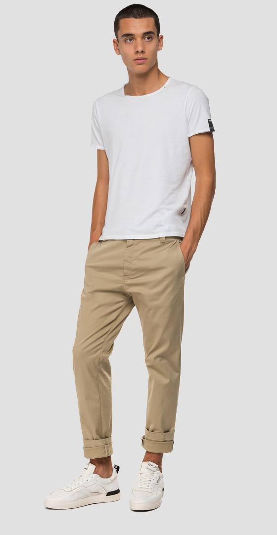 Tailored stretch Chino trousers m9676 .000.8087907