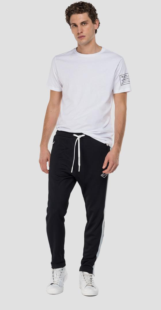 Replay trousers in technical fabric m9723 .000.22610