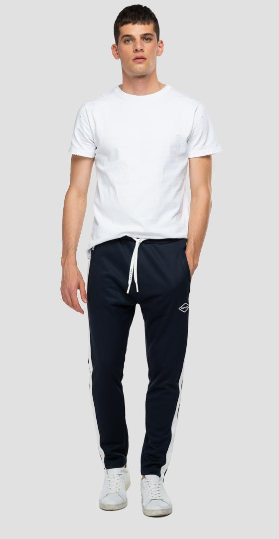 Slim fit jogger pants with pockets m9743b.000.22610