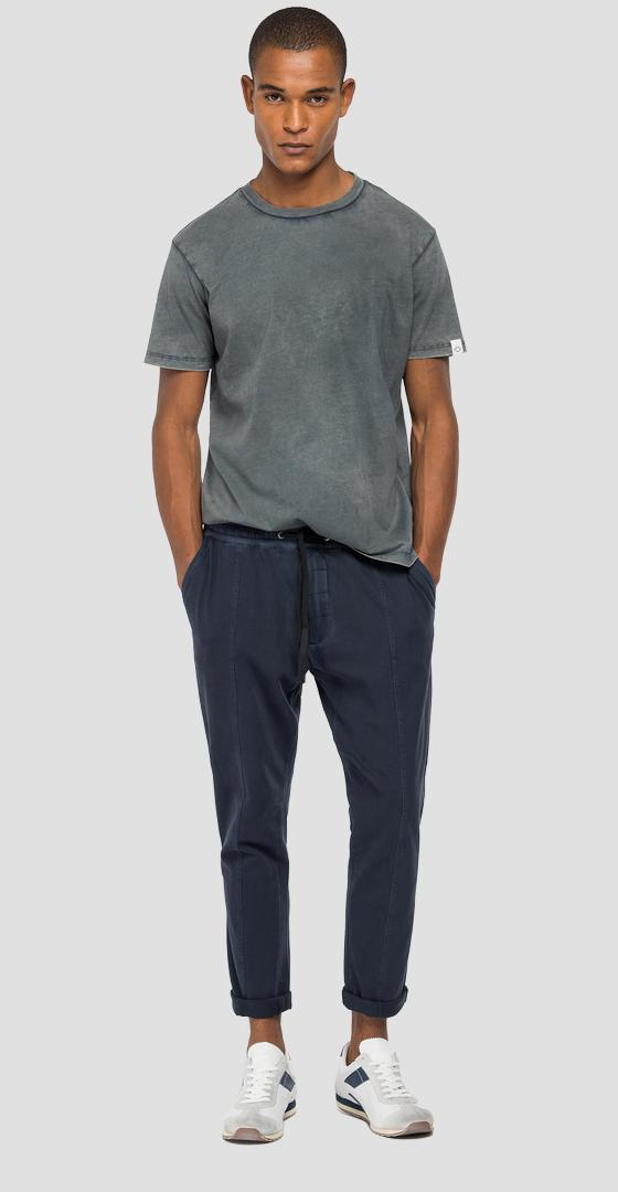 Jogger pants in jersey with pockets m9752 .000.23102g