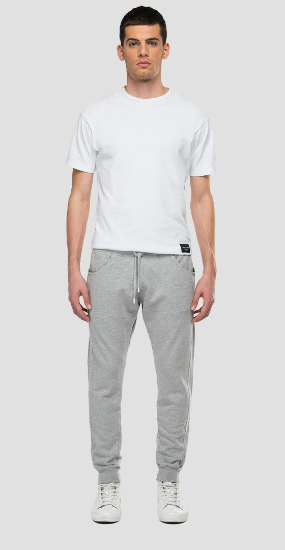 REPLAY SPORTLAB fleece jogger pants with pockets m9768 .000.s23172