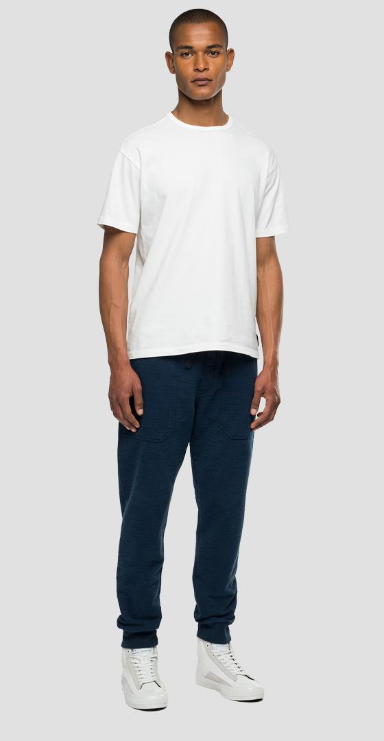 Agender Replay Tailored jogger pants with pockets m9791 .000.23240