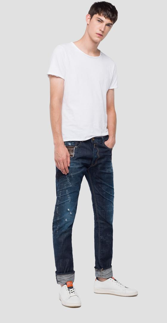 Slim tapered fit Donny Maestro jeans ma900m.000.50c m30