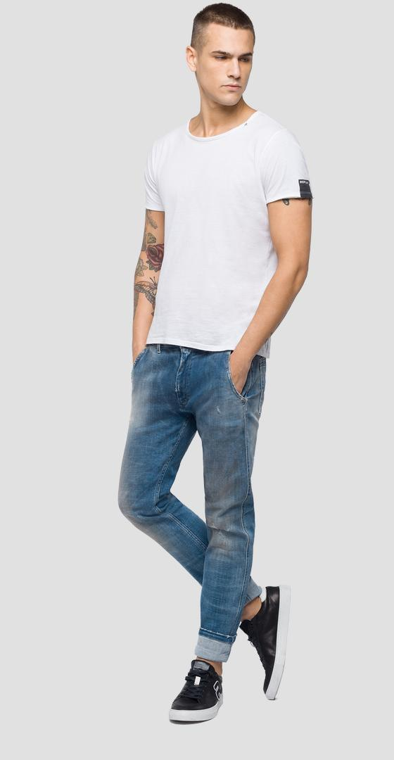 Five pockets chino fit Maycol jeans Aged 10 years ma908c.000.141 460