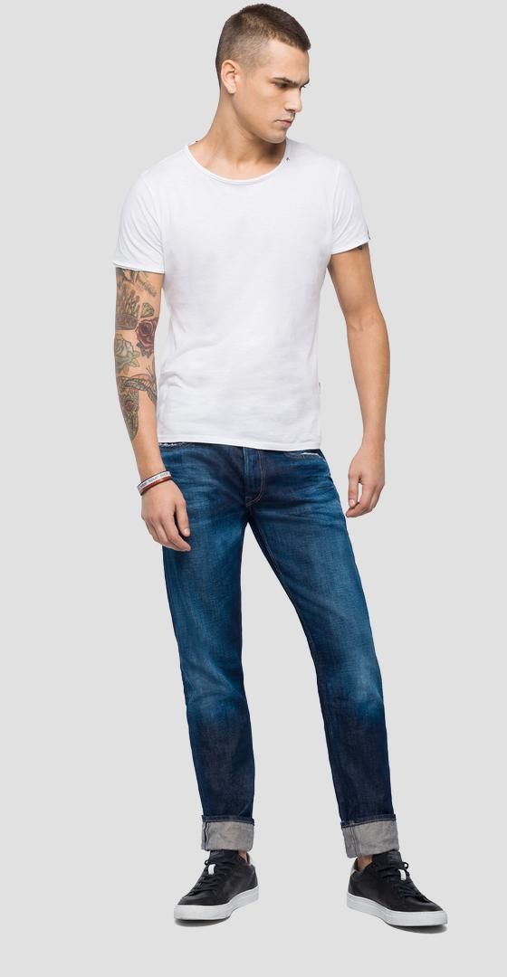 Straight fit Grover jeans ma972 .000.100 422
