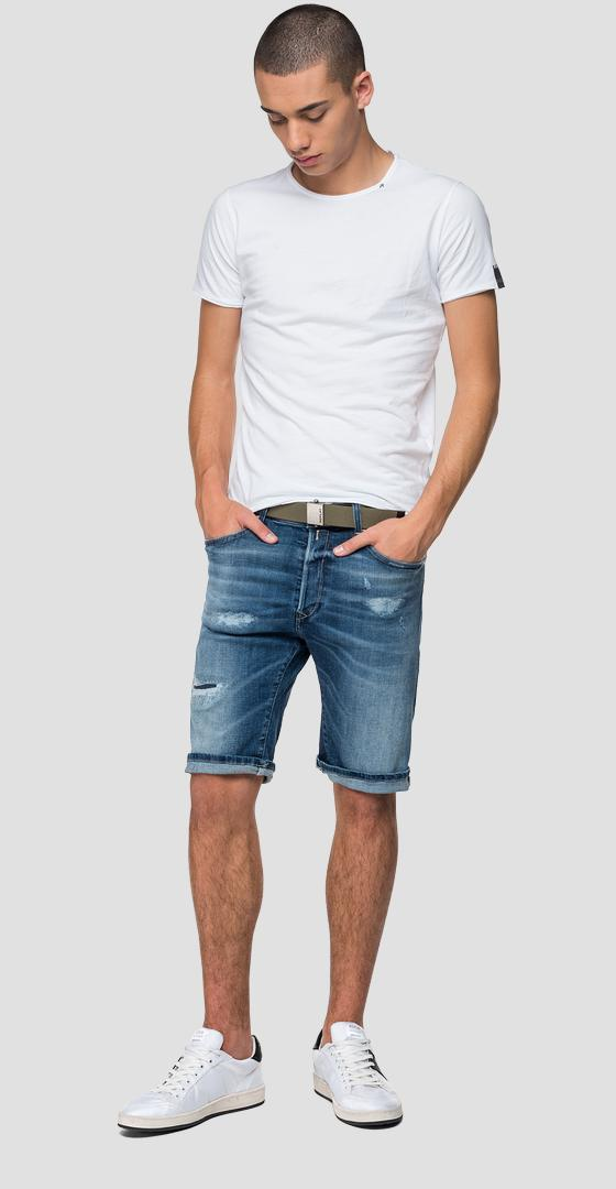 Aged 10 years RBJ901 tapered fit bermuda shorts ma981b.000.141 640