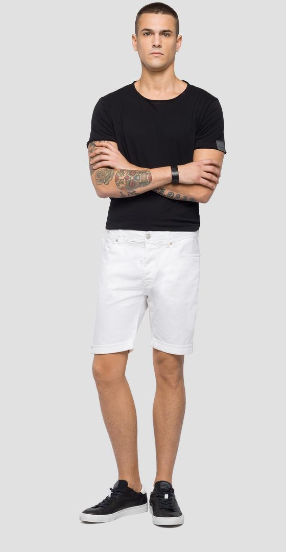 Regular fit RBJ901 bermuda shorts ma981b.000.8005201