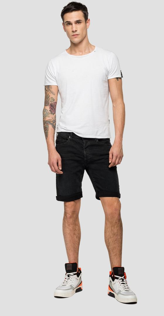 RBJ901 tapered fit bermuda shorts ma981b.000.8005237