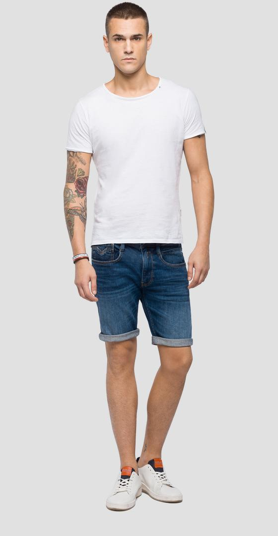 Slim fit Anbass bermuda shorts ma996 .000.101 432