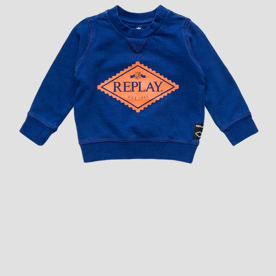 REPLAY crewneck sweatshirt pb2048.050.22990