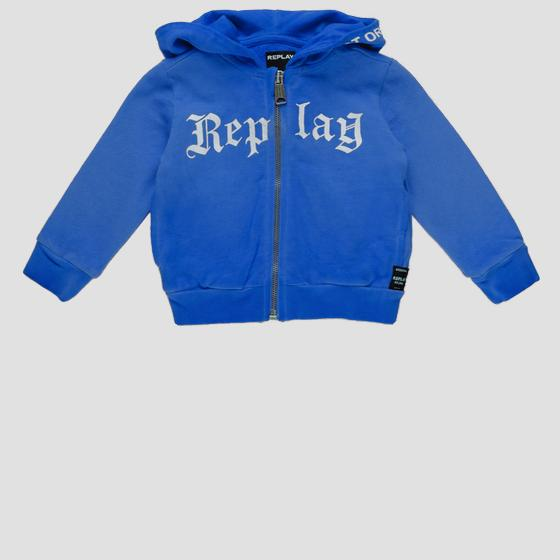 Replay sweatshirt with zipper pb2417.050.22072