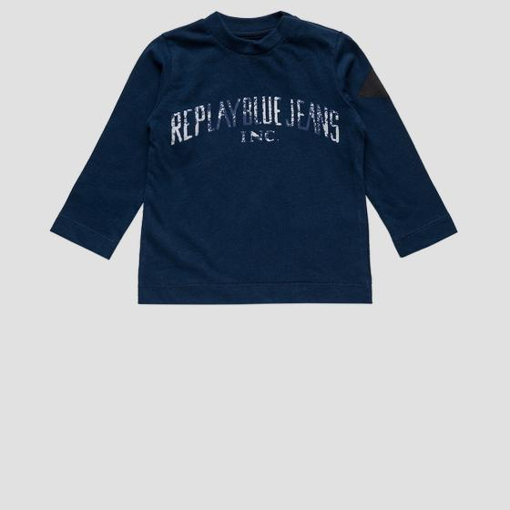 REPLAY BLUE JEANS crewneck t-shirt pb7060.074.22784
