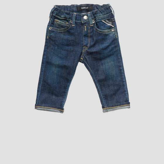 Jeans with elasticated waistband pb9014.050.115 812