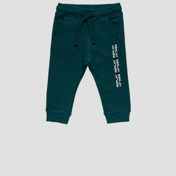 Fleece REPLAY trousers pb9380.053.20372c