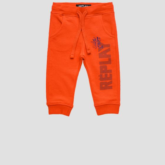REPLAY joggers pants in fleece pb9380.054.22739