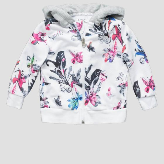 Sweatshirt with floral print pg2336.050.29868ks