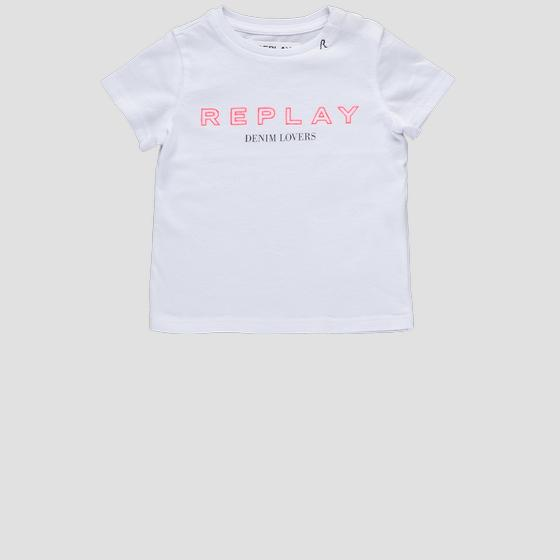 T-shirt in cotone REPLAY pg7472.054.20994