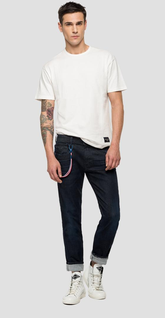 Slim Fit Jeans Anbass Hyperflex Bio Replay PSG psg914.000.661 g71