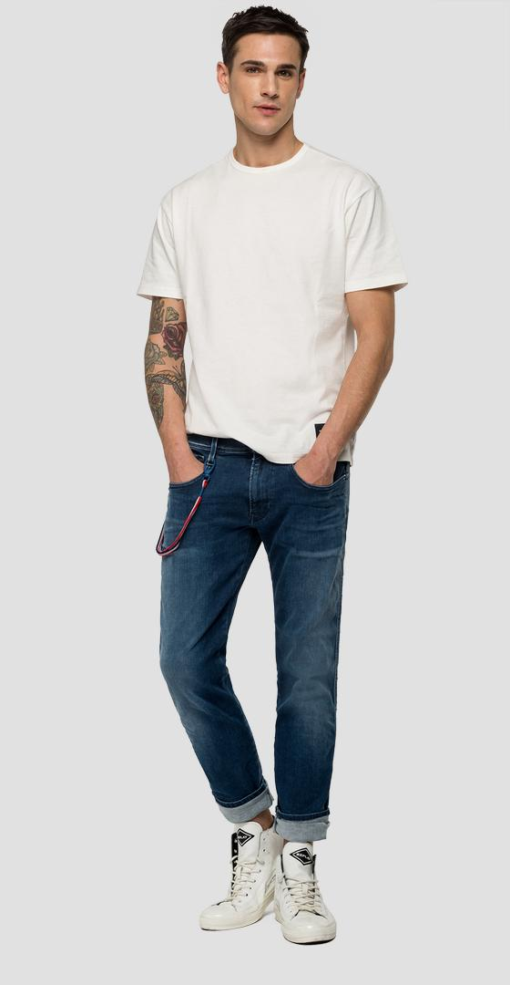 Slim Fit Jeans Anbass Hyperflex Bio Replay PSG psg914.000.661 g72