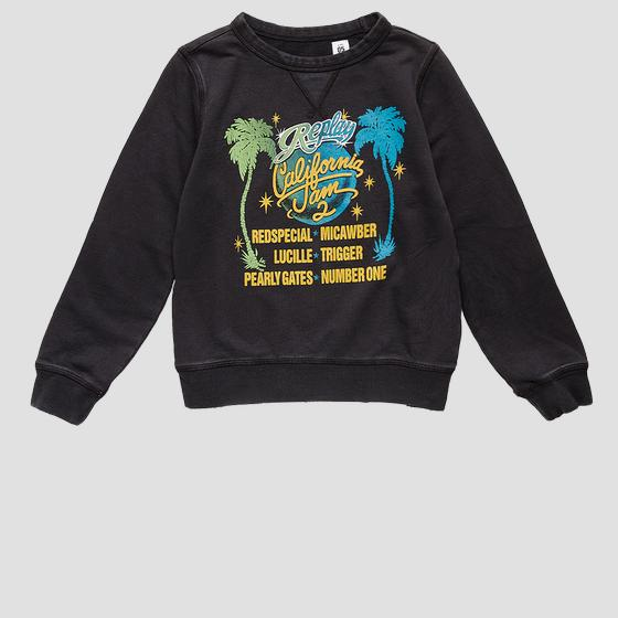 Crewneck AGED 5 Years sweatshirt with print sb2026.062.22990