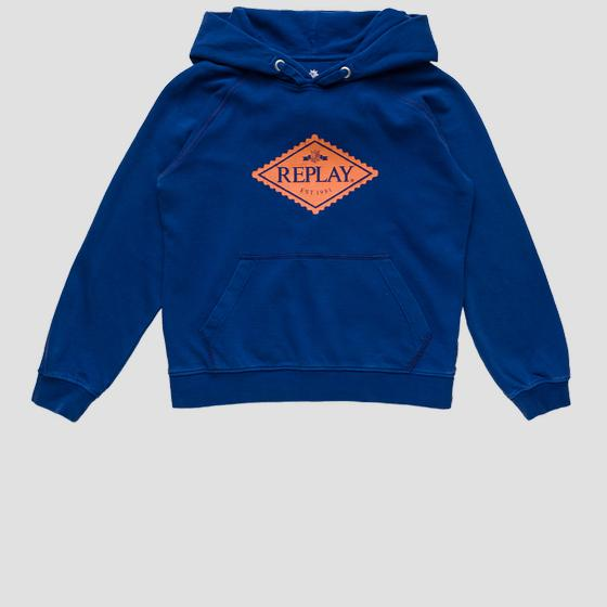 Hoodie with drawstring sb2420.055.22990