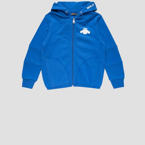 REPLAY hoodie with pockets sb2721.050.20372c