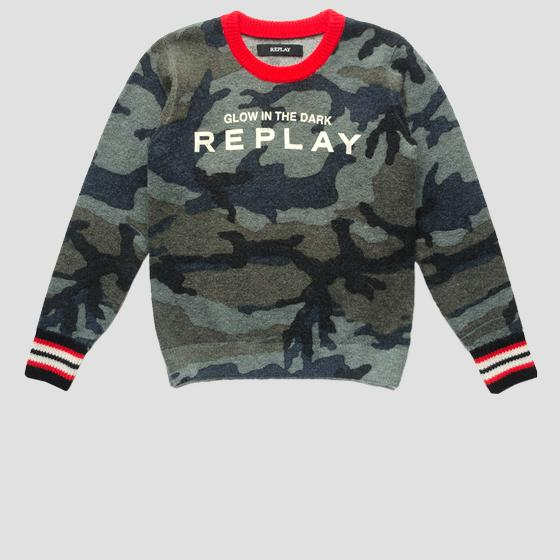 Camouflage sweater sb5054.050.g22574