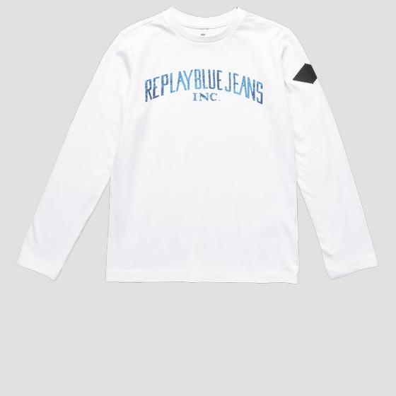 REPLAY BLUE JEANS crewneck t-shirt sb7060.095.22784