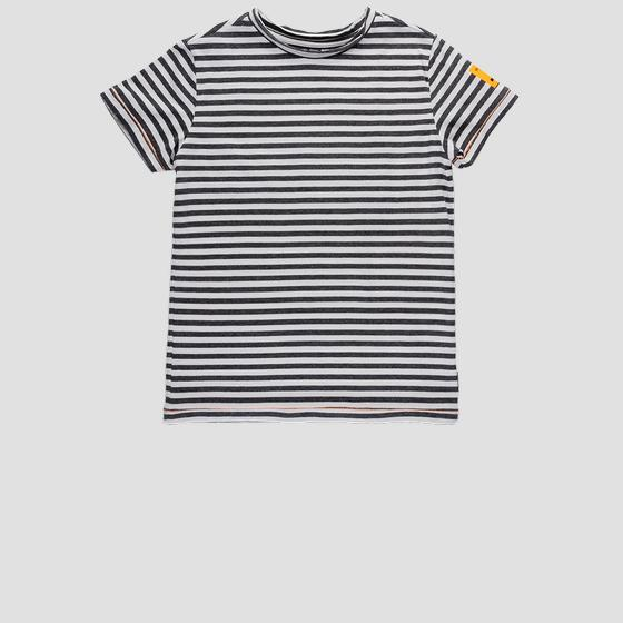 Regular fit striped Replay t-shirt sb7345.050.52254