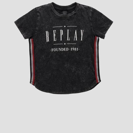 T-shirt REPLAY FOUNDED 1981 sb7382.050.22658g