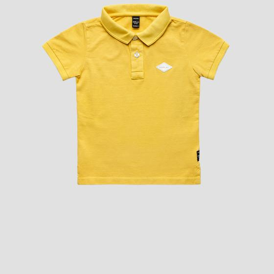 Regular fit polo t-shirt in piquet cotton sb7524.058.22914g