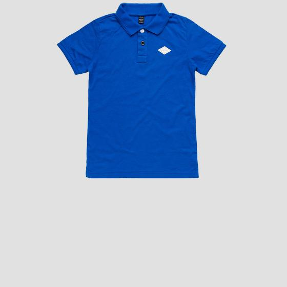 REPLAY polo t-shirt in cotton sb7524.060.22704g