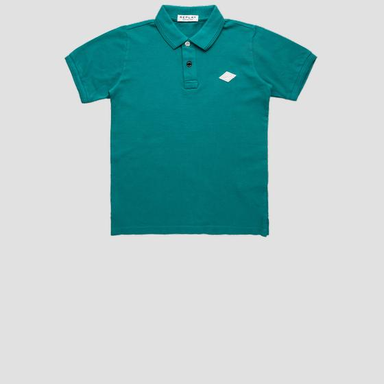 REPLAY polo shirt in cotton piqué sb7524.062.23126g