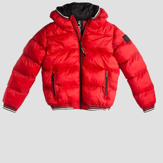 Padded jacket with hood sb8158.050.83406