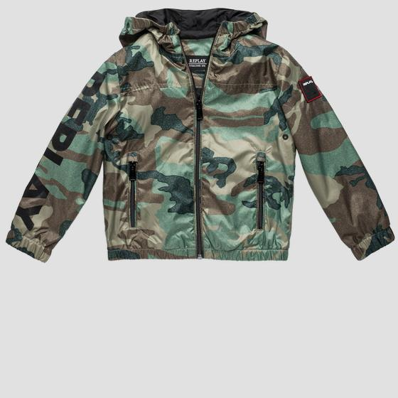 Camouflage bomber jacket with hood sb8162.050.82692ka