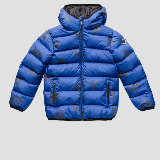 Padded jacket with all-over print sb8192.050.83798kc
