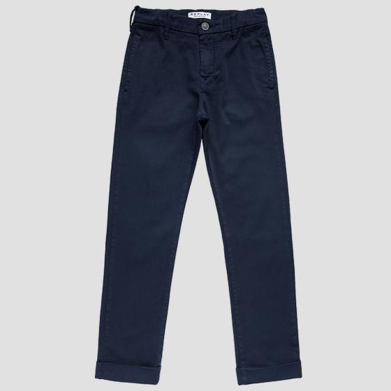 Slim fit trousers in stretch cotton sb9038.050.8410930