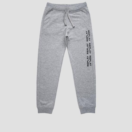 Slim fit REPLAY fleece trousers sb9380.010.22739