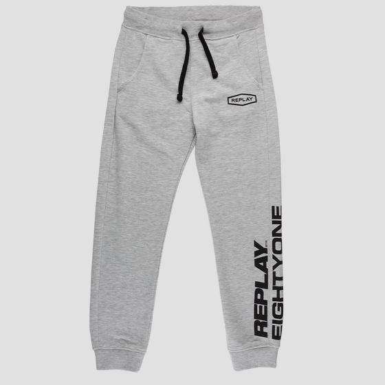 Slim fit fleece trousers sb9380.052.22739