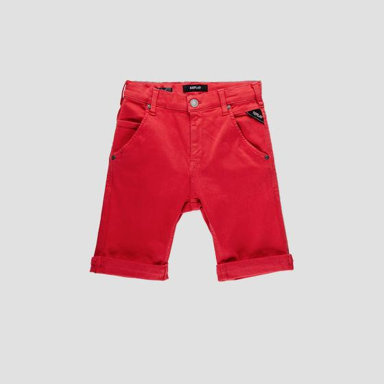 Slim fit Hyperflex short pants sb9628.051.8166197