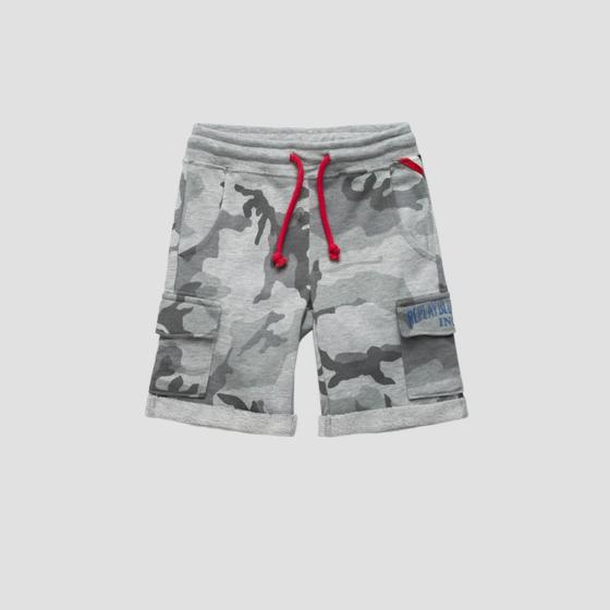 Shorts with camouflage print sb9637.050.22072ke