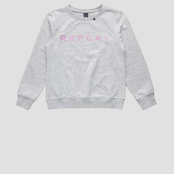 Sweatshirt mit REPLAY-Aufdruck sg2059.010.20238