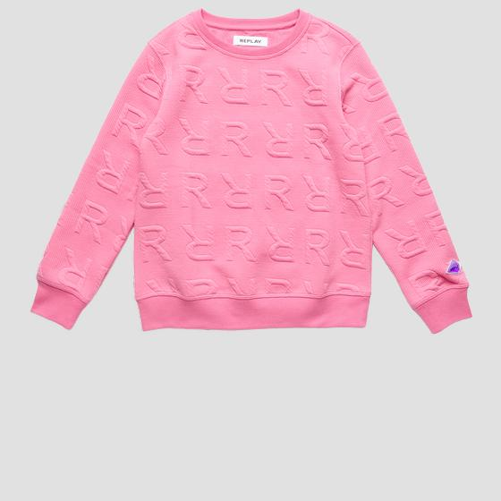 REPLAY jacquard sweatshirt sg2059.062.22954